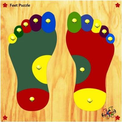 Kinder Creative Feet Puzzle Tray