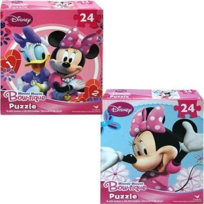 Disney Minnie Mouse Bowtique 24 Piece Puzzles