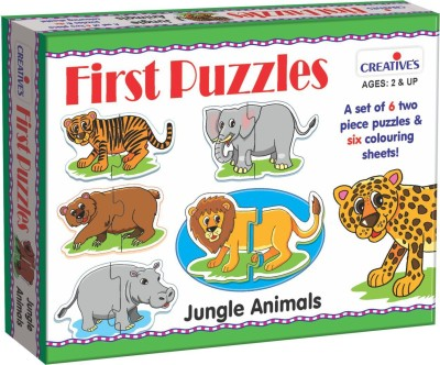 Creative's First Puzzles-Jungle Animals