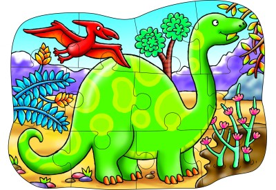 Orchard Toys Little Diplodocus Double Sided Puzzle