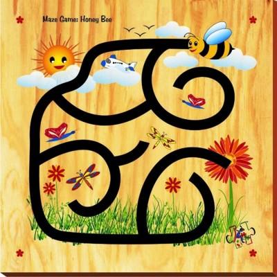 Kinder Creative Maze Game - Honey Bee