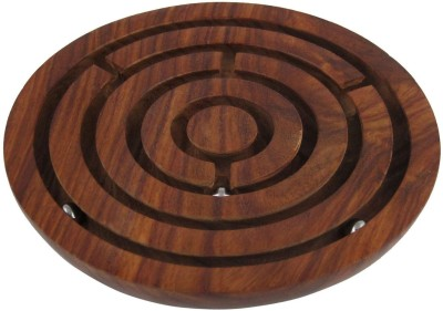 Desi Karigar Labyrinth Board Game Ball In Maze Puzzle