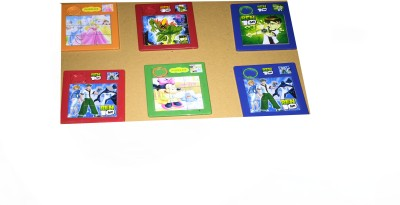 Rahul Toys sliding solving puzzle pack of 6