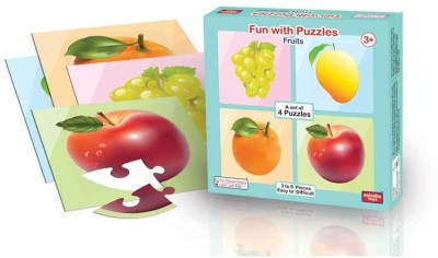 ANINDITA TOYS FUN WITH PUZZLES FRUITS - FWP-FR