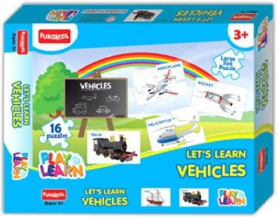 Funskool Learn Vehicles Puzzles (9421700)