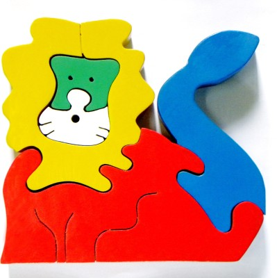 wood o plast Lion Jigsaw Puzzle
