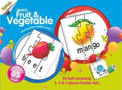 Ratnas Match The Fruit & Vegetable