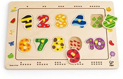 Hape Wooden Numbers Matching Puzzle