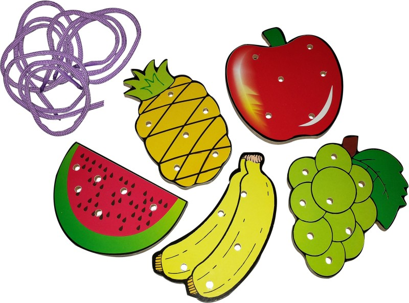 Skillofun Sewing Fruits(5 Pieces)