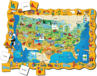 The Learning Journey Puzzle Doubles - Find It! USA