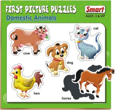 Smart First Picture Puzzles - Domestic Animals