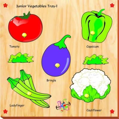 Kinder Creative Junior Vegetables with Knobs