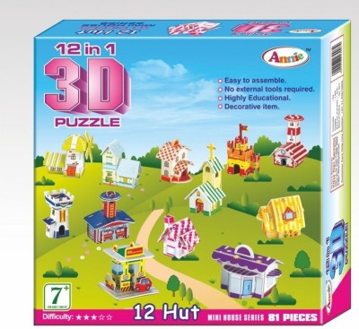 Annie 12-in-1 3D Puzzle