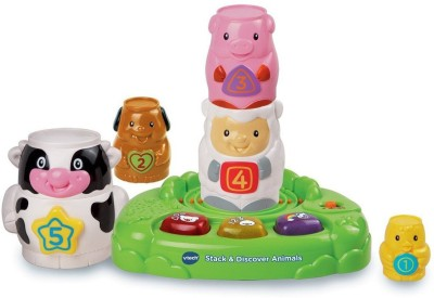 Babeezworld Stack And Discover Animal Toy