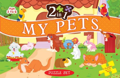 ART FACTORY 2 IN 1 MY PETS