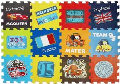 Disney Pixar Cars Puzzle Game Mat