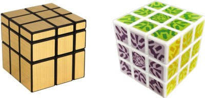 ShopperBay Gold Mirror Cube and Kung Fu Cube Combo