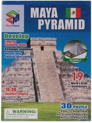 Magic Puzzle Maya Pyramid 3D Puzzle