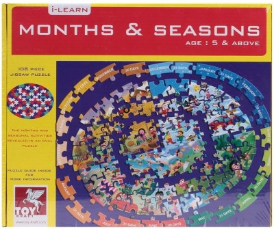 TOY KRAFT Months and Seasons