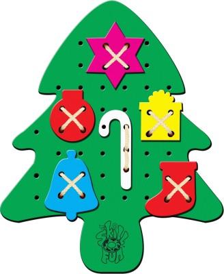 Skillofun Christmas Sewing Toys - Tree