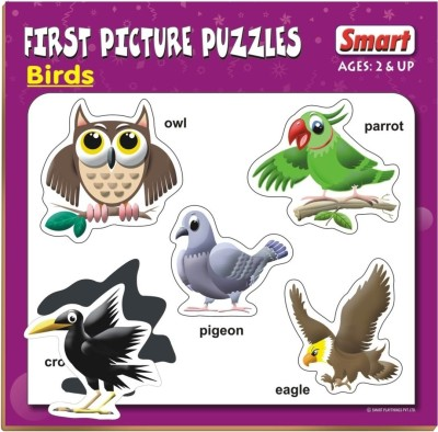 Smart First Picture Puzzles - Birds