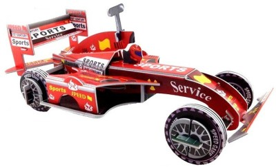 Lionsland Ferrari Racing Car 3D Puzzle