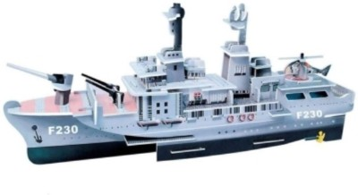Lionsland Fighter NavyShip 3D Puzzle