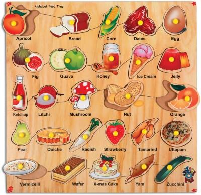 Skillofun Skillofun Alphabet Food Tray (With Knobs)