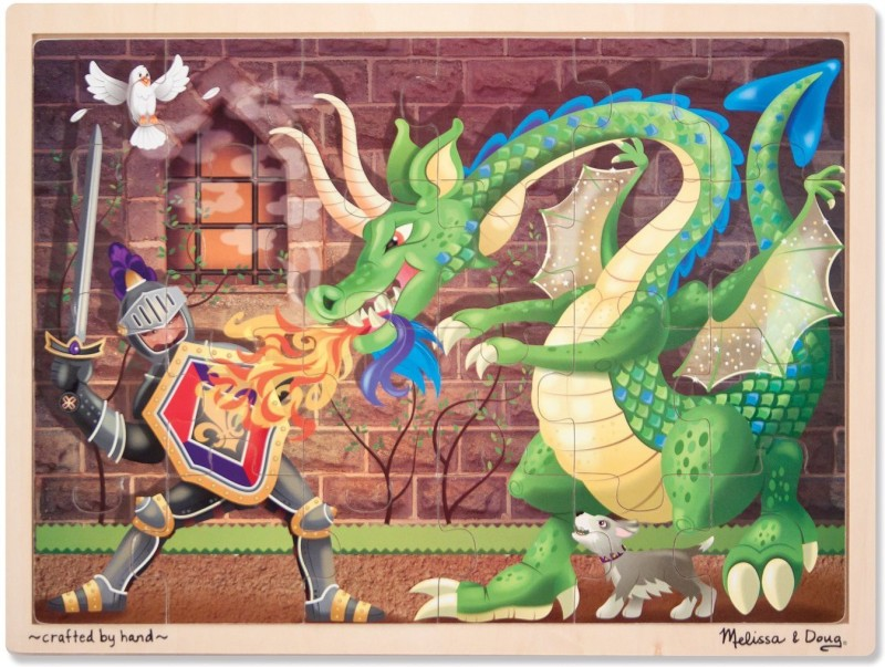 Melissa & Doug Knight vs. Dragon(48 Pieces)
