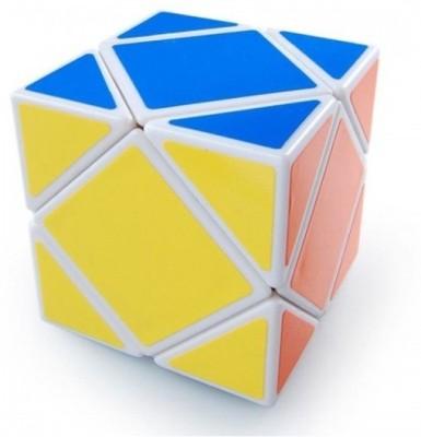 ShopperBay Lanlan Skewb White Base Cube