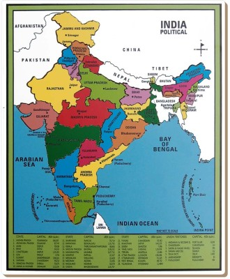 TOMAFO Map-India (Small)