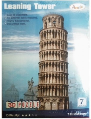 Annie Leaning Tower 3D Puzzle