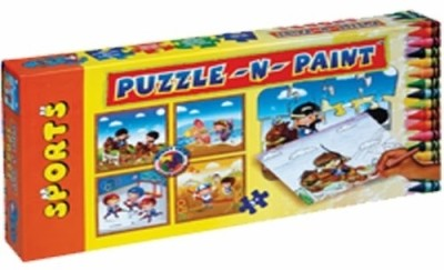 Sunny Puzzle N Paint Sports