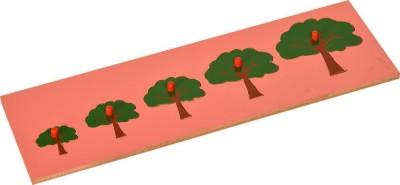 Kidken Montessori Size Variation Inset Board Tree