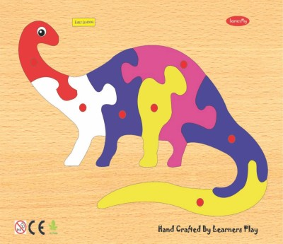 Learner's Play Apatosaurus Knob Puzzle