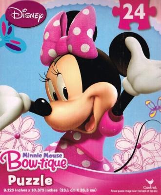 Disney Minnie Mouse Bowtique 24 Piece Puzzle