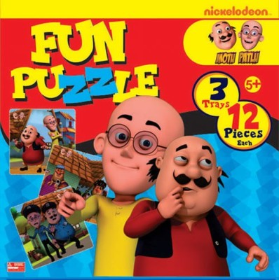 BPI Motu Patlu- Fun puzzle 3