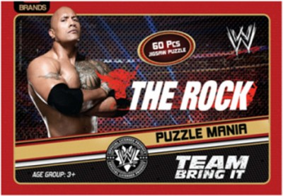 Brands WWE Rock Puzzle Mania