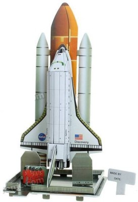 Lionsland NASA Space Shuttle 3D Puzzle