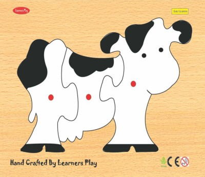 Learner's Play Cow Knob Puzzle