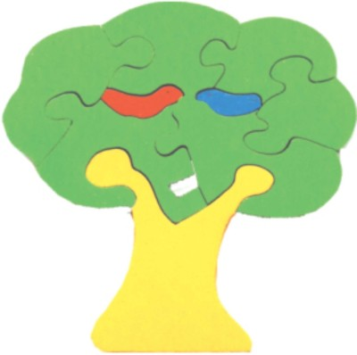 Learner's Play Tree Jigsaw Puzzle - Colored