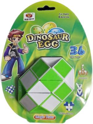 ShopperBay Mega Snake 36 Piece Puzzle Green