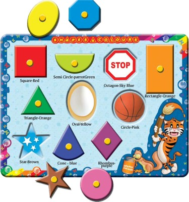Prasima Toys Shapes And Colours Puzzle