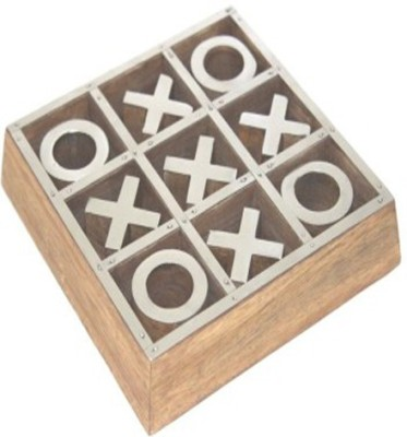 Shape n Style Wooden Tic Tac Toe