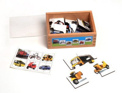 RK Cart RK Cart 4 Piece Puzzle - Vehicles