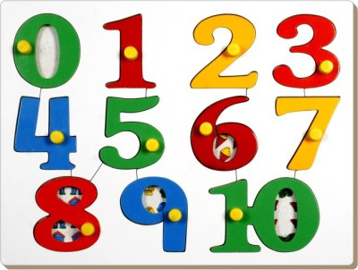 TOMAFO Number Picture Tray with Knob