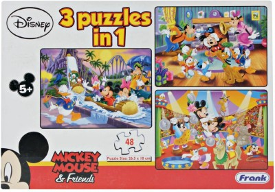 Frank Mickey Mouse & Friend 3 in 1