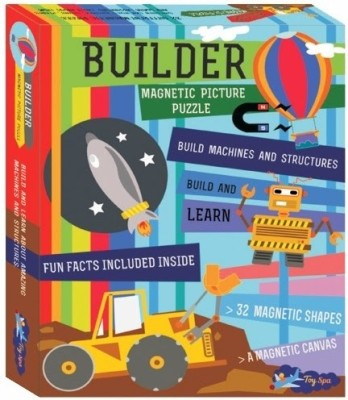 Sunny Magnetic Builder Puzzle
