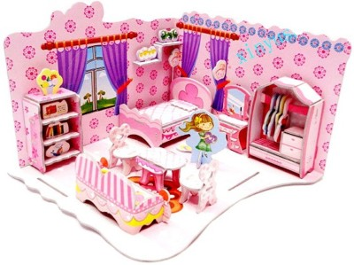 Lionsland Sweet BedRoom 3D Puzzle