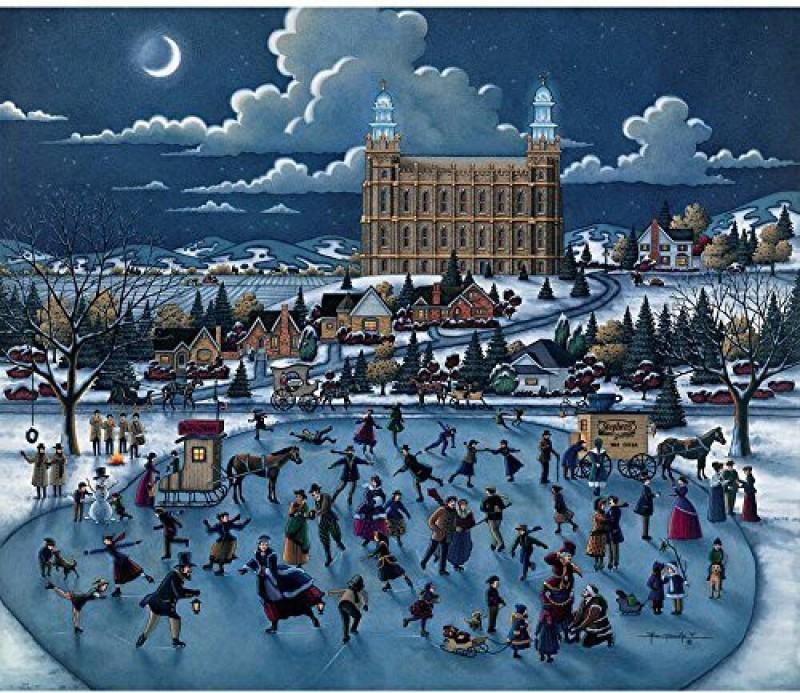 Dowdle Folk Art Puzzle - Olsen Park 500 Pc